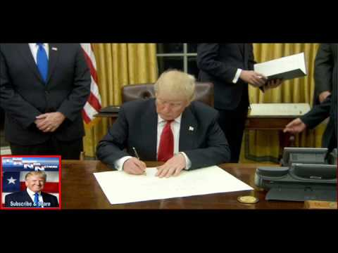 Trump Signs 4 Executive Orders in First 72 Hours of Presidency