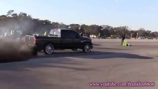 Dodge Challenger Hellcat vs Dodge Ram 2500 Cummins