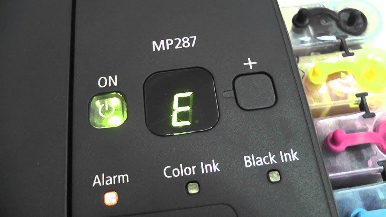 Cara Mudah Mengatasi Printer Canon Mp287 E05 Mp258 Mp145 Dll