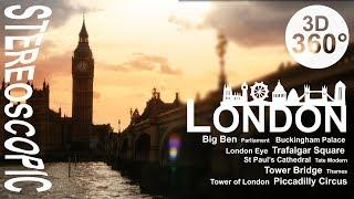 360° London City Sights (4K Stereoscopic [3D] 360° VR Video)