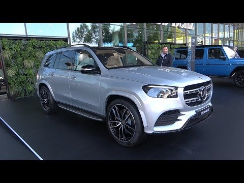New MERCEDES GLS 580 (2020) – first look & quick review (AMG Line)