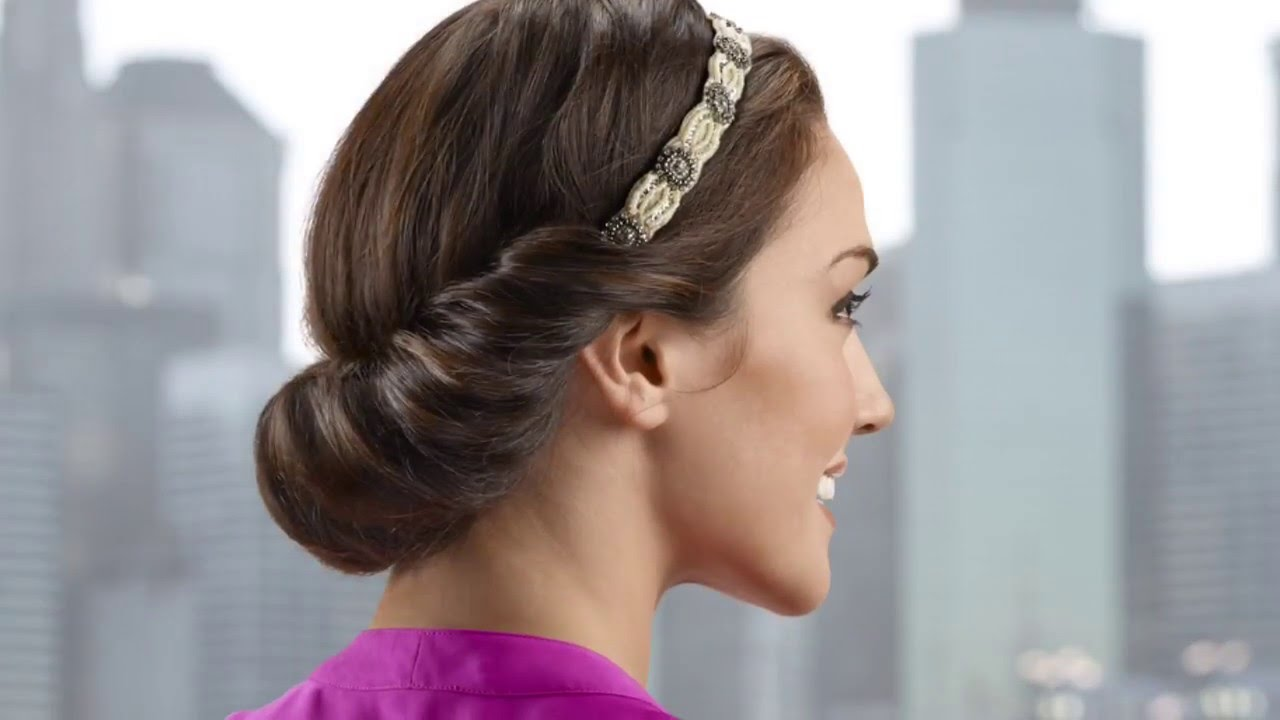 simple pageant hair styles