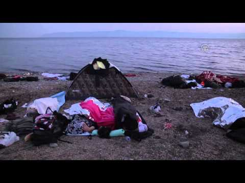 Refugees hold on to life in Greece's Lesbos Island