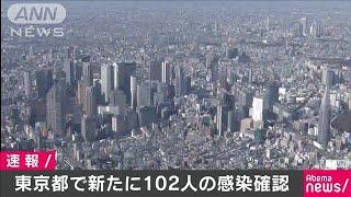 新型コロナ 東京都で新たに102人感染(20/04/20)