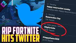 #RIPFortnite Trending on Twitter, Myth Responds