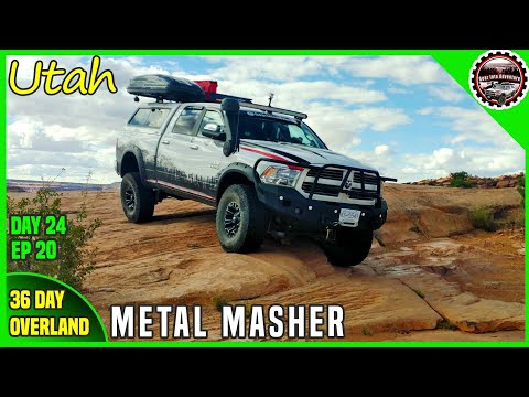 utah-moab-metal-masher-trail---off-road-overland-adventure-travel-36-days- -ep-20- -day-24