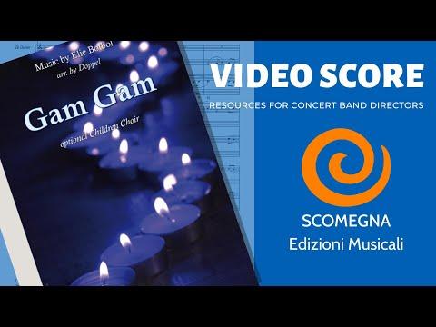GAM GAM (instrumental version) - Elie Botbol, arr.  Doppel