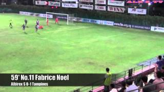 ALB-S 2015 S.League 1st Leg vs. Tampines Rovers FC 2nd/March