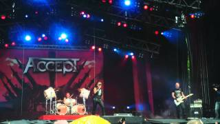 Accept - New World Comin (Sweden Rock Festival 2011)