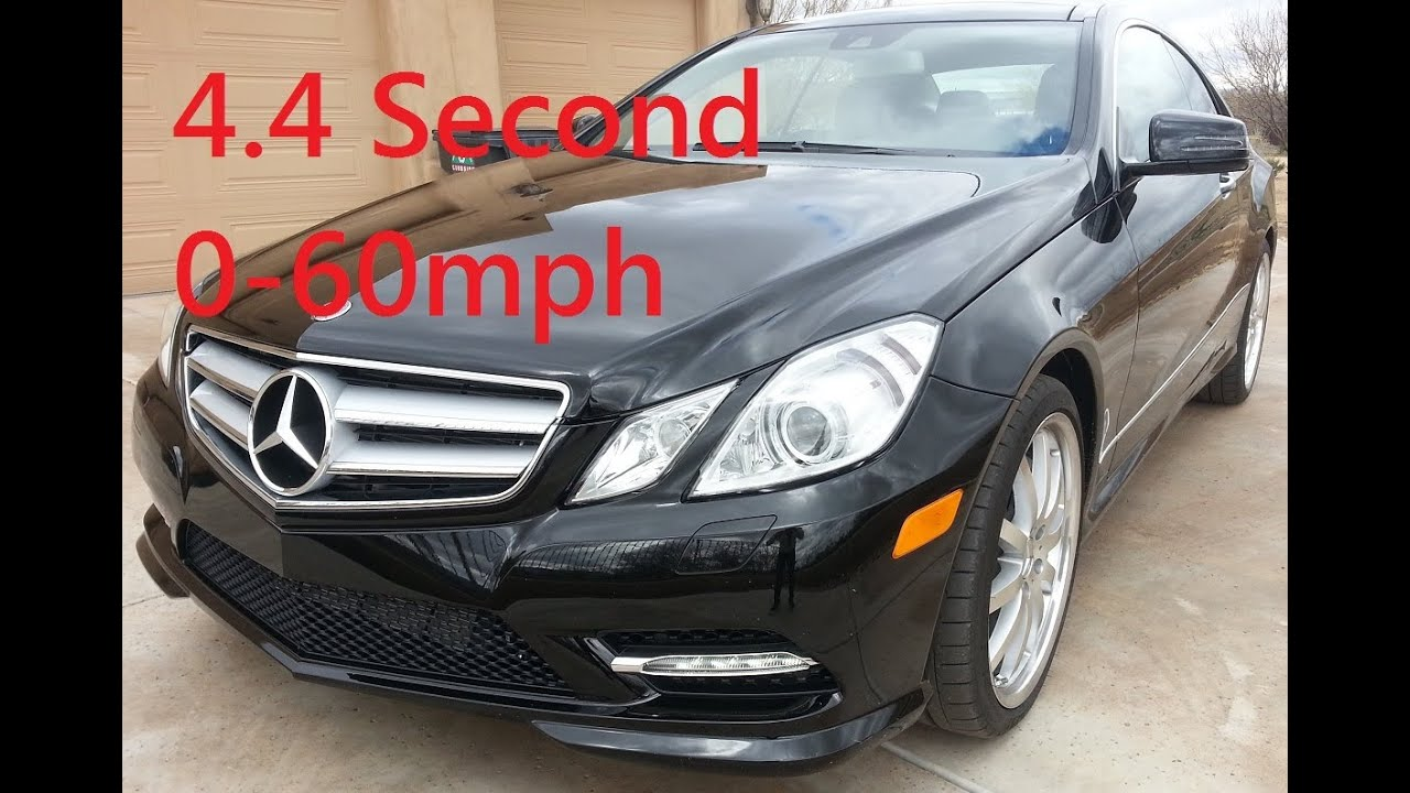 4 4s 2017 Mercedes Benz E550 Coupe 0 60mph