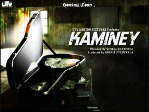 Kaminey meri aarzoo - Kaminey Tittle Track  by Vishal  Bhardwaj (With Lyrics)