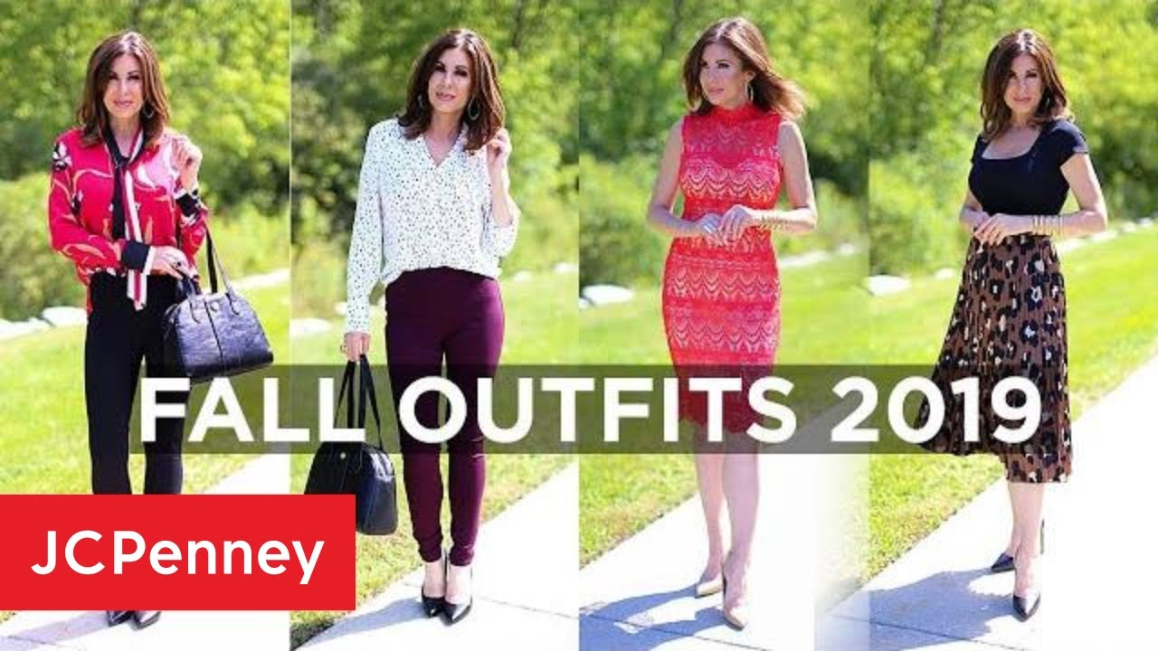 [VIDEO] - Women's Fall Outfits 2019 with Tracy Hensel | JCPenney 1