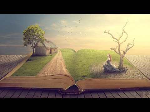 Story Book - Photoshop Manipulation Tutorial