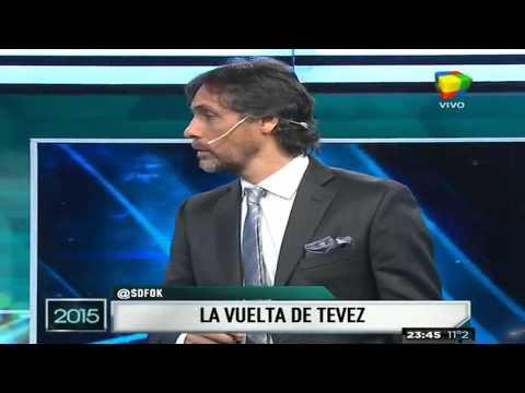 Los números detrás del regreso de Tevez