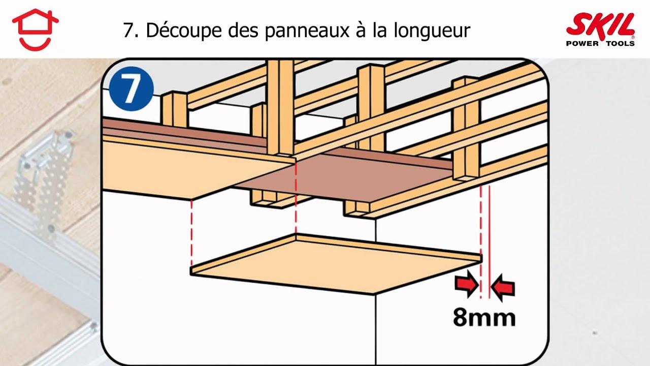 Instructions 171 Pas 224 Pas 187 Pour Faire Un Faux Plafond