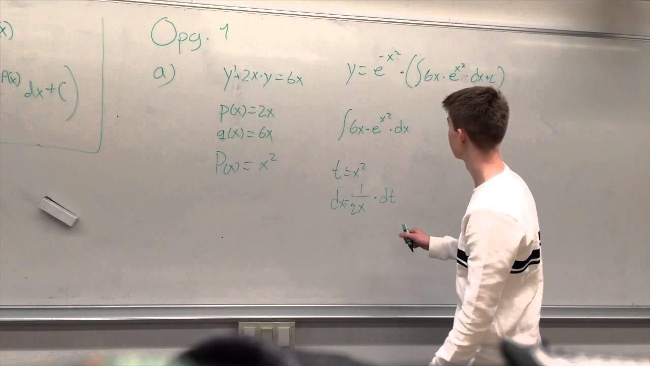 Lineære differentialligninger (Gruppe 5)