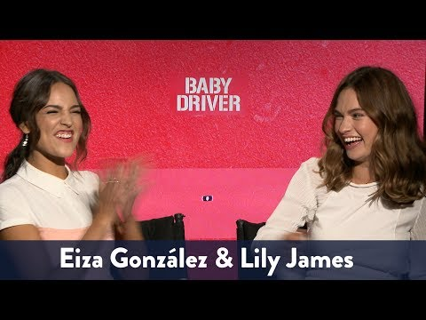 Lily James & Eiza Gonzalez Singing! | KiddNation