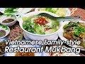 Vietnamese Family-Style Restaurant Mukbang in Nha Trang | VIETNAMESE FOOD