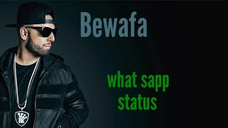 Bewafa | imran khan | Hindi song | whatsapp status (lyrics)