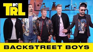 The Backstreet Boys Re-Connect w/ Their Biggest Fans From the MTV Bunker | TRL