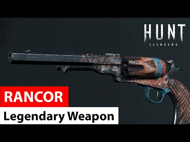 Rancor for Caldwell Conversion Uppercut | Legendary Weapons of Hunt: Showdown