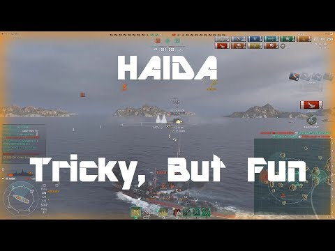 Haida - Tricky, But A Lot Of Fun
