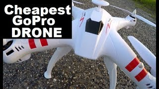 Cheapest Brushless GoPro Drone Bayangtoys X16 1ST FLIGHT TES & Review