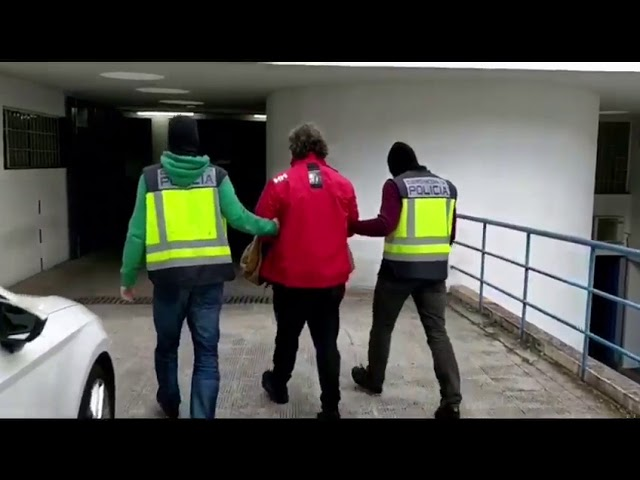 VÍDEO. Detención de Sito Miñanco