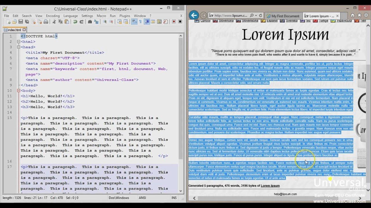 HTML Cheat Sheet