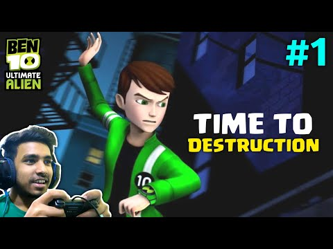 THIS IS MY FAVOURITE GAME EVER | BEN 10 UACD GAMEPLAY #1