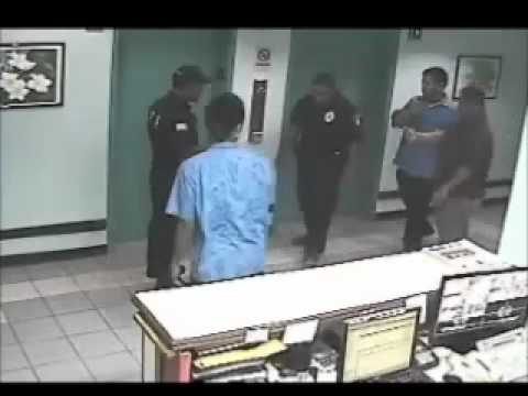 Escape of Fugitive Edward T. Buckingham with DPS Aid Surveillance Footage (linear)