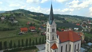 Cerkev župnije Čadram - Oplotnica 2015