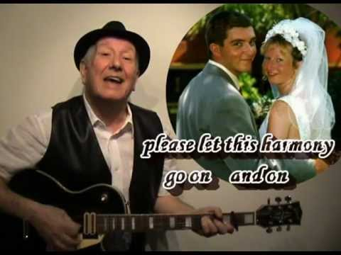 Ivory Flower - original songs by YouTubers - Bob Tulip - caribbean wedding - on-screens lyrics