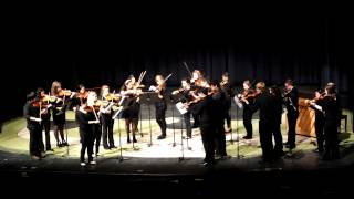 FCTE - 2014 XMas Concert - Forest City Violins - Slavonic Dance No 1 in G minor