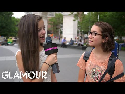 Glamour's Junior Political Correspondent Asks New Yorkers Ab