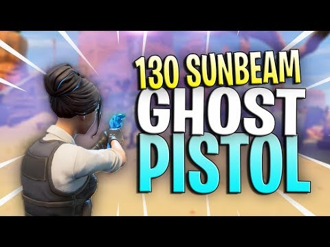 *NEW* 130 GOLD ROLES GHOST PISTOL //GAMEPLAY and REVIEW // Fortnite Save The World