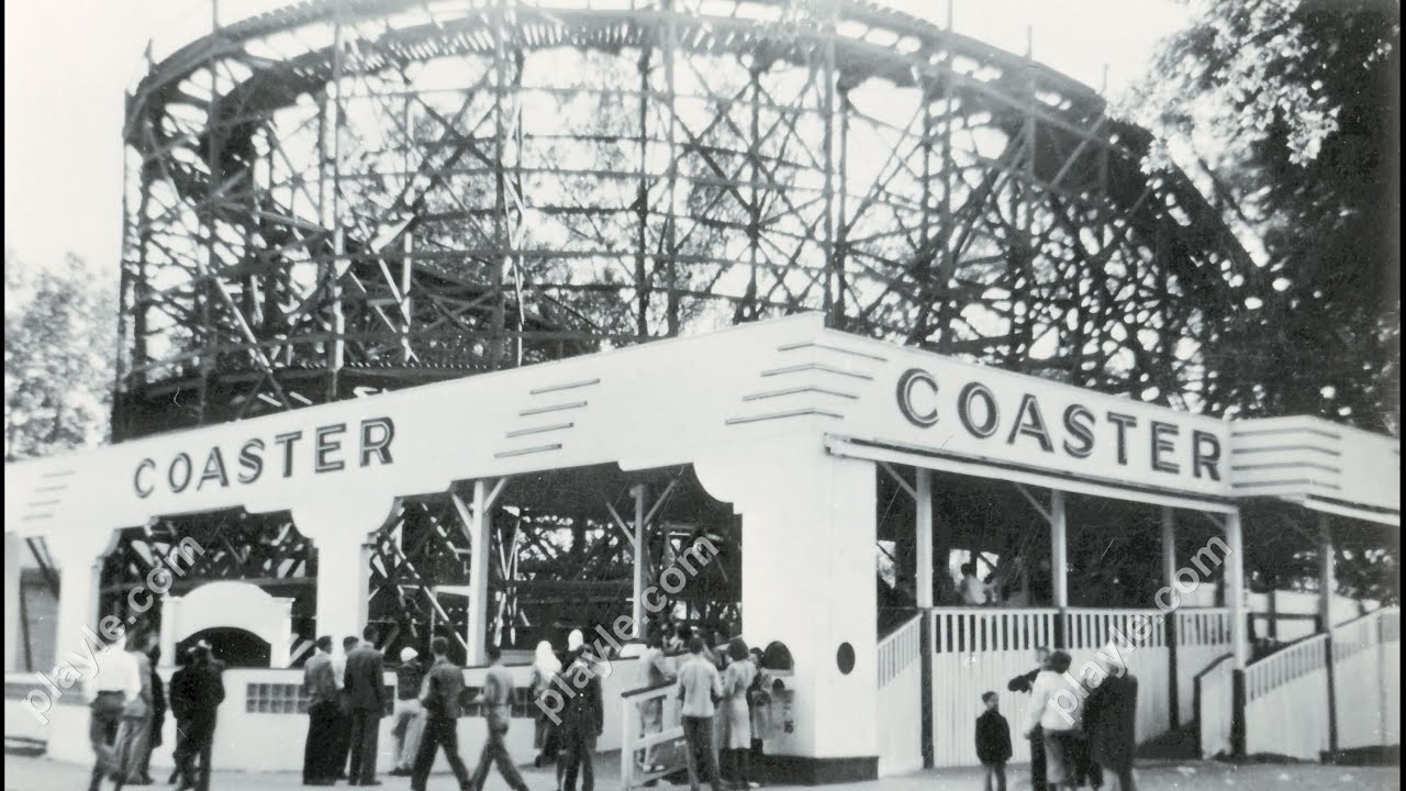 Riverview Park on vintage postcards