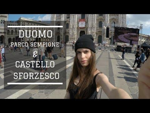 DUOMO & CASTELLO SFORZESCO - MILANO ITALY