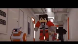 Minecraft Animation - STAR WARS MOVIE: The Last Jedi! (Star Wars Animation)