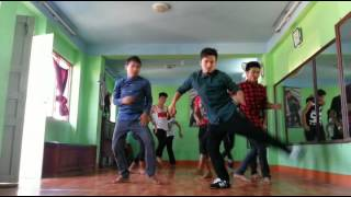 dheere dheere se meri zindagi mein aana yo yo honey singh dance cover from flexible dance school