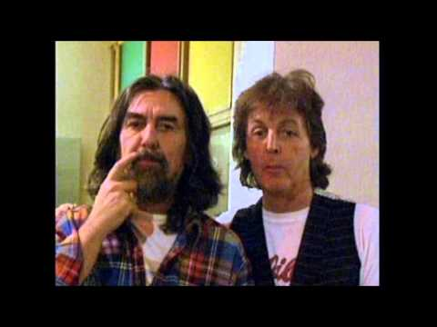 Image result for George Harrison and Paul McCartney