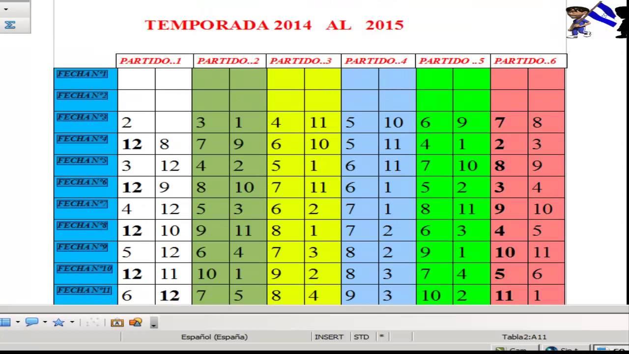Futbol Calendario.Calendario De Futbol