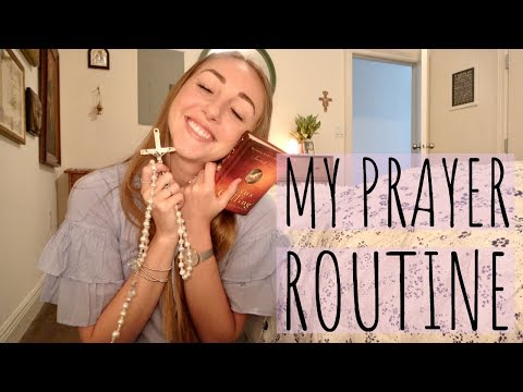 MY PRAYER ROUTINE // devotions, bible, rosary + more