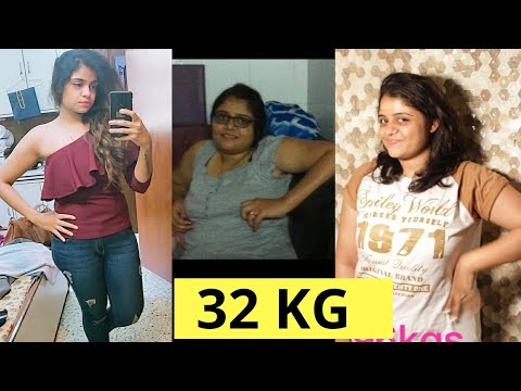 How to Lose Weight Fast in Hindi? 32kg Weight Loss Journey #WeightLoss #BellyFat #Diet