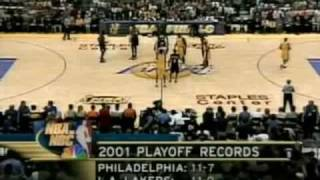 2001 NBA Finals: Sixers at Lakers, Gm 1 part 1/14