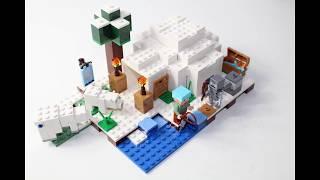 Lego MineCraft   The Polar Igloo   Set 21142