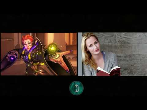 Moira  Genevieve O'Reilly Voice Actress of Overwatch