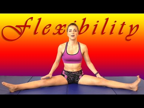 Best Flexibility Stretches & Exercises For Dance, Gymnastics & Cheerleading Workout Routine