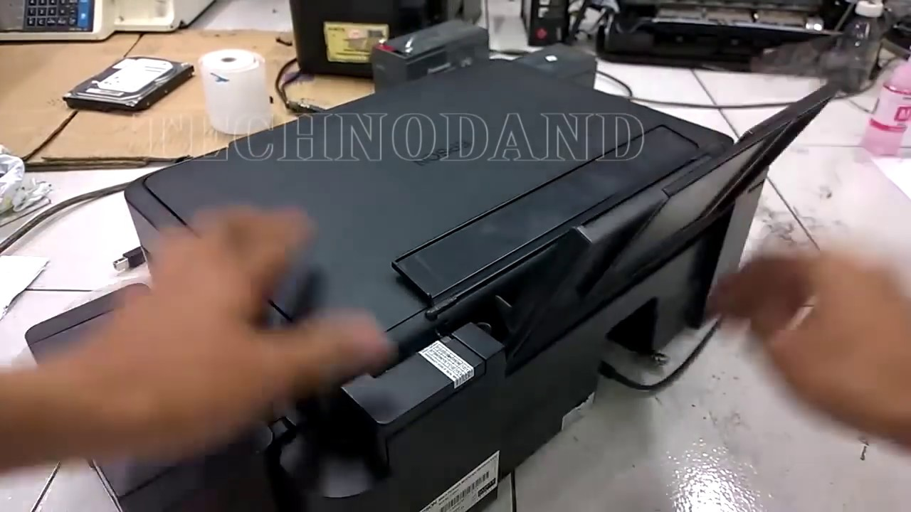 Epson L220 Paper Jam Error Solved Youtube