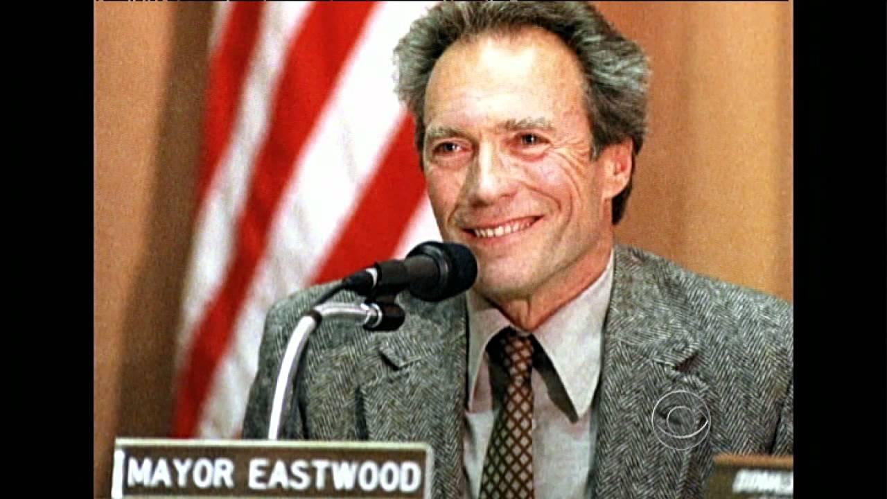 Almanac: Mayor Clint Eastwood - YouTube